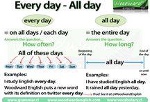 ENGLISH : GRAMMAR