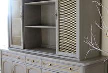 Book shelves & china cabinets