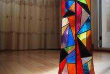 lampara vitral