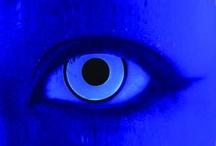 UV Glow Contact Lenses