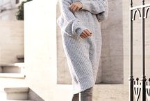 свитер с юбкой