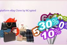 eBay Clone / eBay Clone - Go with latest trend to start easy online business with readymade popular ideas. Get custom made Auction Clone platform like eBay Clone or get readymade eBay Clone Script from NCrypted with SEO friendly extended features. For more details - http://www.ncrypted.net/ebay-clone