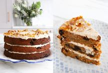Vegan Gluten Free Layer Cakes / From moist carrot cakes to rich chocolate cakes, here you will find the most indulgent layer cakes perfect for parties, celebrations or just an afternoon treat!