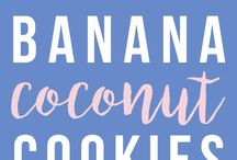 Bananen Cocos Cookie