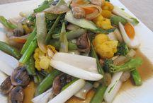 Cuisine japonaise / Yasai itame