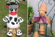 Mr cow pot
