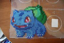 Fuse bead crafts / hama / nabbi photopearl bead art