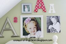 Mackenzie's toddler room ideas / by Adrienne Morgan