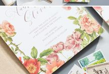 Wedding Invitations by Lavender & Love Creative / Botanical, Rustic, Classic Wedding Invitations