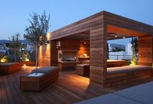 Timber wall Cladding / Wall cladding indoors and outdoors