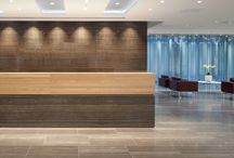 CCP Reception, Portman Square / Lovely images of the CCP reception we completed at the end of 2011. It was a great project to be involved in, where the Canadian client wanted to use a Canadian stone. Eramosa was the most obvious choice, with its beautiful and striking features.