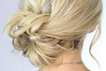 buns / hairstyles