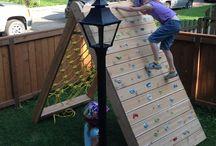 Barnelek og aktiviteter i hagen