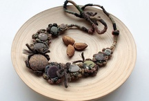 Necklaces (with driftwood and other materials)