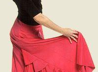 faldas flamenca y vestidos / by Auxi Peso Campos