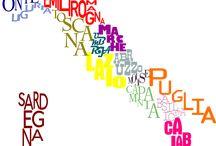 Geografia / Cartina dell'Italia con nomi