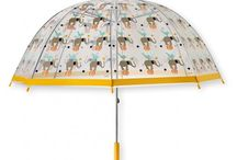 Engeltjes & Draken | It's a rainy day, hallelujah! / Nice things to wear on a rainy day: umbrella's and aincoat's