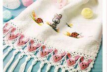 macrame toalhas