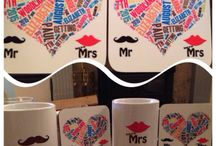 Mugs and Coasters / Personalised Mugs and Coasters give a special touch for any occasion. www.quickbadge.co.uk