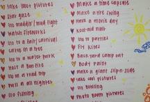 bucket list / by Emily Newton