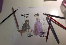 Gentleman's Guide to Vice and Virtue Coloring Contest