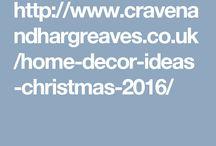 Home Decor Ideas For Christmas 2016