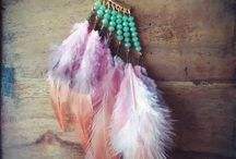 yoga boho earring feather σκουλαρίκια Φτερά & Πούπουλα / #yoga #boho #ethnic #jewelry #handmade #χειροποιητα #κοσμήματα #σκουλαρίκια #φτερά #πούπουλα #yogajewelry
