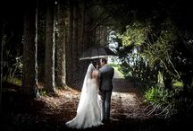 Rainy Wedding Days / Some of the most amazing wedding photo's come from a rainy day.