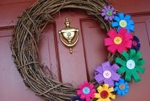 wreath / by Crystal Smith