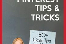 Pinterest Tips / Collection of helpful tips when using Pinterest