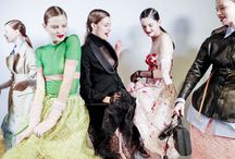 #ErmannoScervino / Fashion Show's behind the scenes.