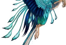 Wolf Phoenix Wings