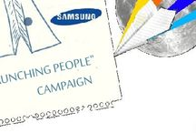 """Samsung Initiates Global """"Launching People"""" Campaign"""
