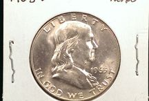 Franklin Half Dollars / Inventory and prices subject to change. Call (920) 432-5950 for current stock.