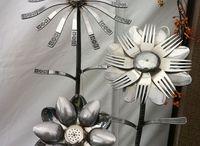 Silverware flowers / DIY