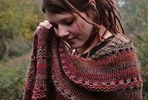 Knitting shawls & scarves