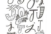 Lettering/Script