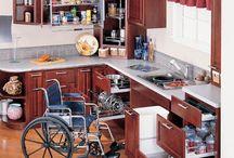 Wheelchair friendly design