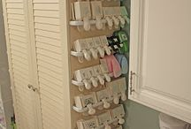 Organization Ideas / Cool ways to organize stuff!