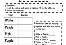 Fractions with common denominators 6.2 (6th grade)