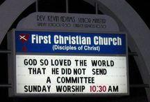 Memorable Church Signs