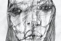 Takahiro Shimatsu / Tekeningen / schilderen