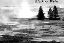 America B&W / Travelling through Utah, Nevada and California, catching glimpses of the American Landscape. Photography
