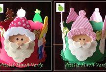 Moldes Natal / Moldes para enfeitar o Natal, vários modelinhos!