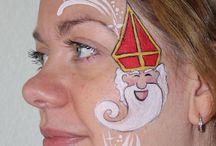 Sinterklaas schmink