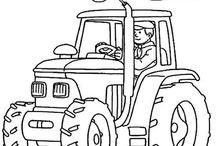 omaľovánka autá