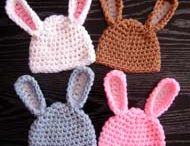 Crotchet hats / Rabbit ears
