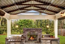 CREATIVE home inspirations  - thin stone veneer / interior & exterior design!