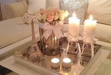 Romantic decoration style by Sirja / Decorations in rustic and romantic style