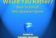 would you rather statements / by Sandy Haralson